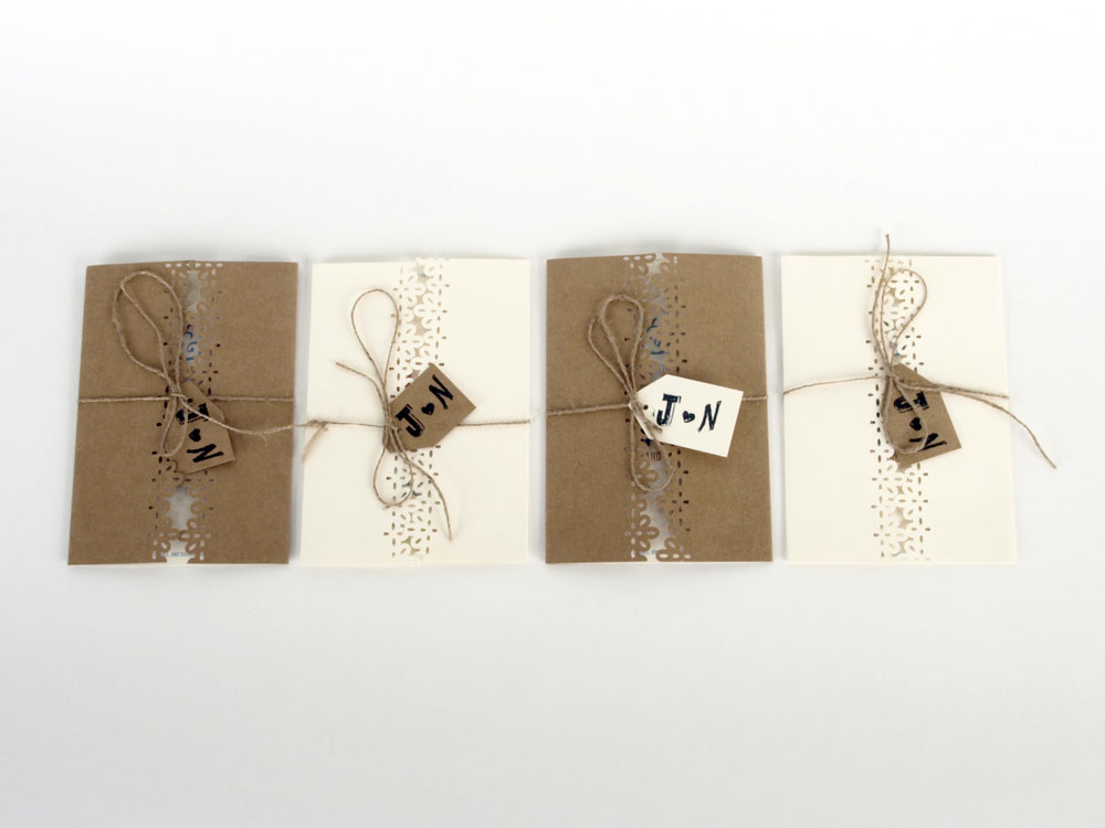 Wedding Invitations Designed by Julie Mendez.