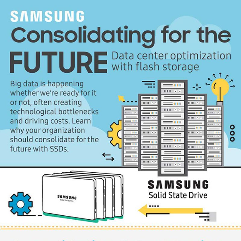 Flash Storage Infographic