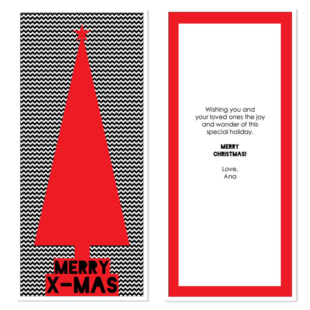 Holiday Card for Paper Culture designed by Julie Mendez